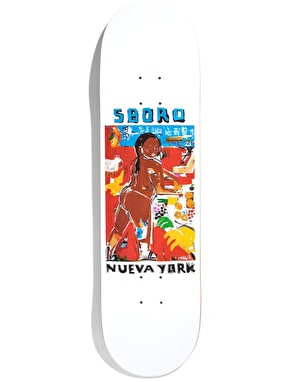 5Boro x MKG Chinatown Girl Nueva York Series Skateboard Deck - 8