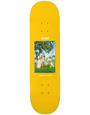 WKND Taylor Fruit Family Skateboard Deck 8.1