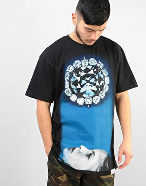 Diamond Face Down T-Shirt - Black