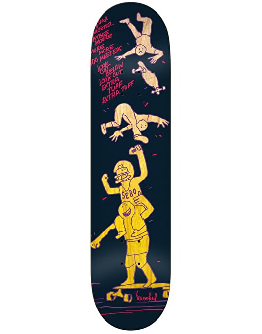 Krooked Sebo Meeters Skateboard Deck - 8.25""
