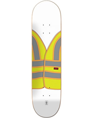 Girl Kennedy Safety Vest Skateboard Deck - 8.5
