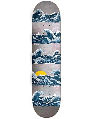 Real Chima Waves Reflection Skateboard Deck - 8.38