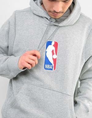 Nike SB x NBA Icon Pullover Hoodie - Dk Grey Heather/White