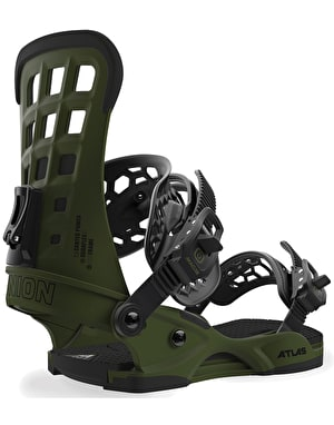 Union Atlas 2019 Snowboard Bindings - Matte Green