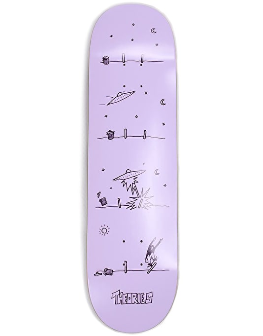 Theories How They Got Here Skateboard Deck - 8.38""