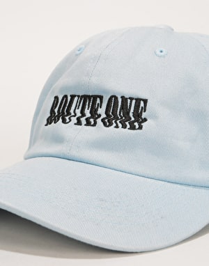 Route One Glitch Cap - Light Blue