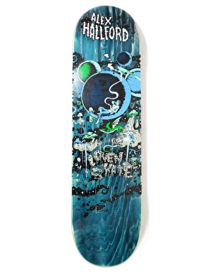 Lovenskate Hallford Unknown Unknowns Skateboard Deck - 8.25
