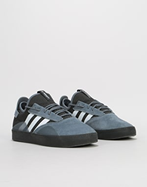 Adidas 3ST.001 Skate Shoes - Onix/White/Core Black