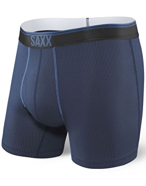 Saxx Quest 2.0 Boxer Shorts - Midnight Blue