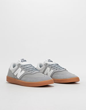 New Balance AC 617 Skate Shoes - Grey/Gum
