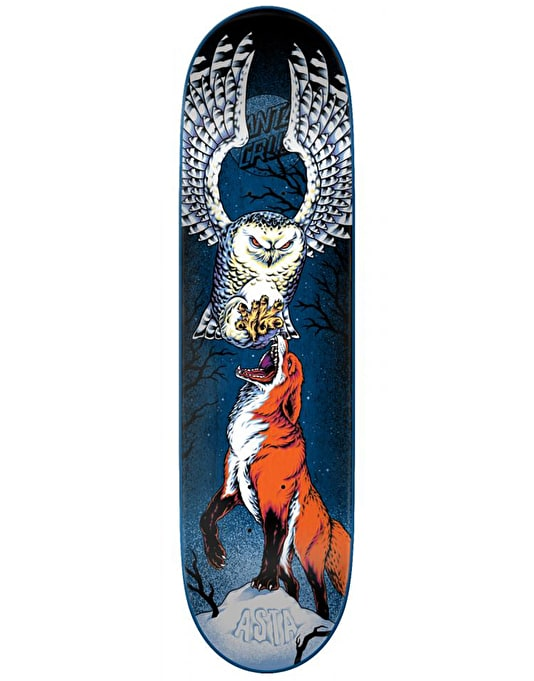 Santa Cruz Asta Rivalry Skateboard Deck - 8""