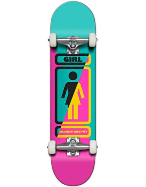 Girl Brophy 93 Til Complete Skateboard - 7.75