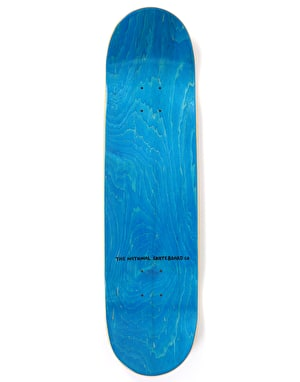 The National Skateboard Co Pray by Mike O'Shea Skateboard Deck - 8.38