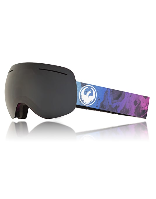Dragon X1 Snowboard Goggles - Ink/Dark Smoke