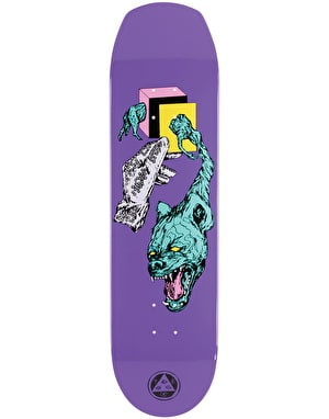Welcome Face of a Lover on Helm of Awe(sum) 2.0 Skateboard Deck - 8.38