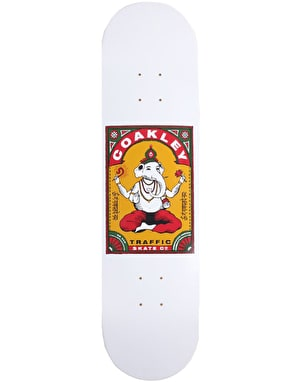 Traffic Coakley Ganesha Skateboard Deck - 8.25