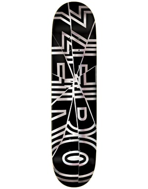 Zero Bold Shattered Skateboard Deck - 8.25