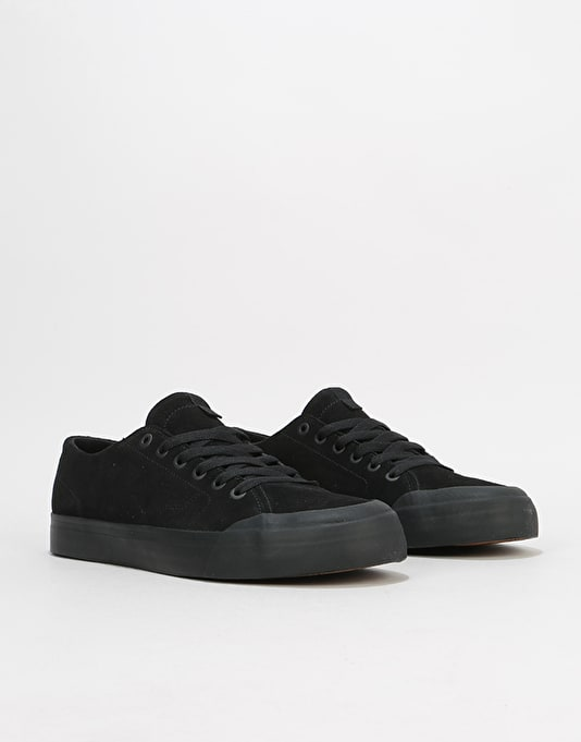 DC Evan LoZero S Skate Shoes - Black/Black/Black