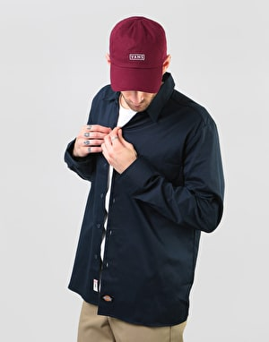 Dickies Long Sleeve Slim Shirt - Dark Navy