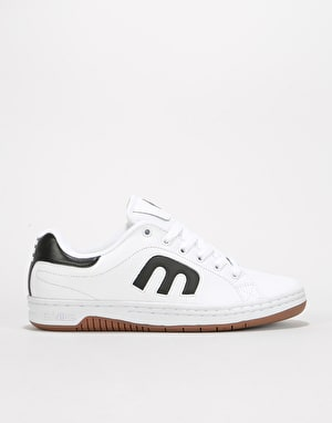 Etnies Calli-Cut Skate Shoes - White/Black/Gum