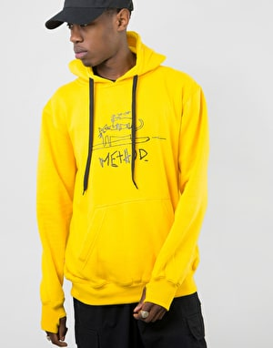 Method x Niels Shack Collab Pullover Hoodie - Yellow