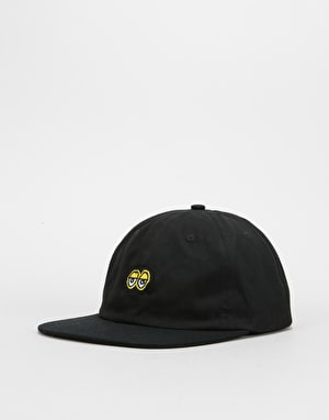 Krooked Eyes Cap - Black/Yellow