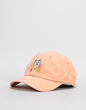 RIPNDIP Flowers For Bae Over Dye Dad Cap - Orange
