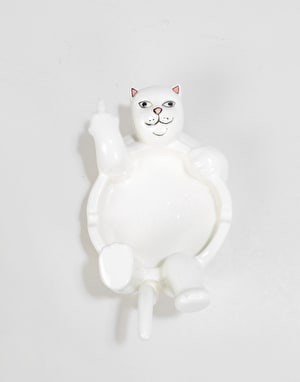 RIPNDIP Lazy Nerm Ceramic Ash Tray  - White
