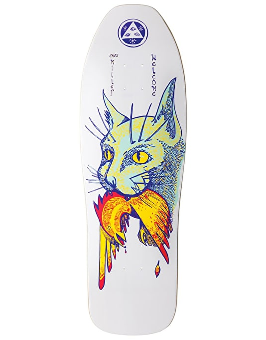 Welcome Miller Cat Gets Bird on Sugarcane Skateboard Deck - 10""