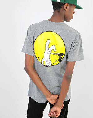 RIPNDIP It Won't Be Ok T-Shirt - Heather Grey