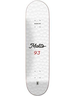 Girl Malto Long Ball Skateboard Deck - 8.25