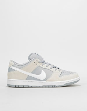 Nike SB Dunk Low Skate Shoes - Summit White/White-Vast Grey-White