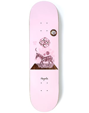 Magenta Fox Perceptions Skateboard Deck - 8.125