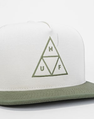 HUF Bedford Triple Triangle Snapback Cap - Birch