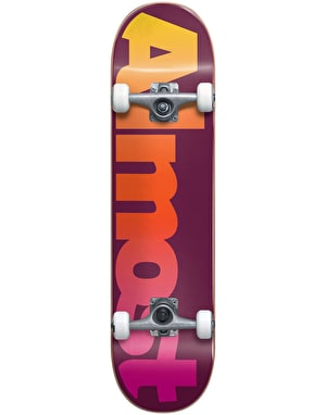 Almost Straight Faded Complete Skateboard - 7.875