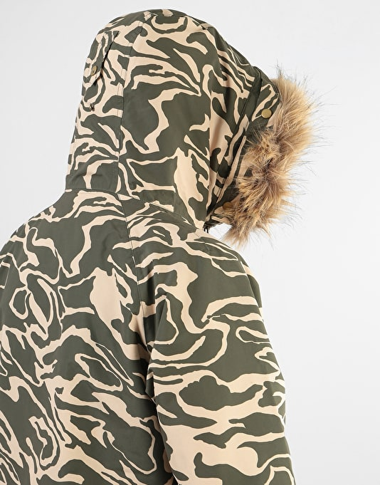 Analog Frazier 2018 Snowboard Jacket - Forest Noodle Camo