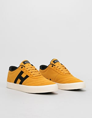 HUF Galaxy Skate Shoes - Mustard