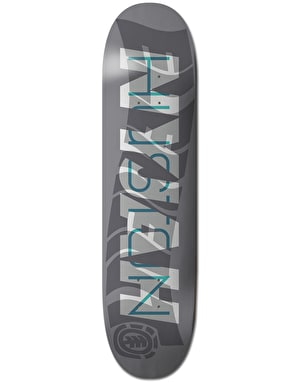 Element Nyjah Overlay Skateboard Deck - 8.25