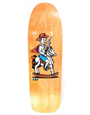Polar Dane Cowboy Skateboard Deck - BEAST Shape 9.75