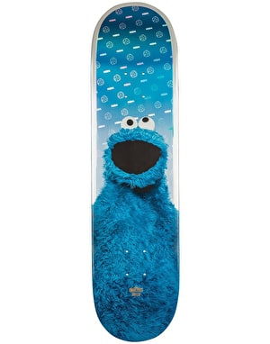 Globe x Sesame Street Cookie Monster Skateboard Deck - 8.125