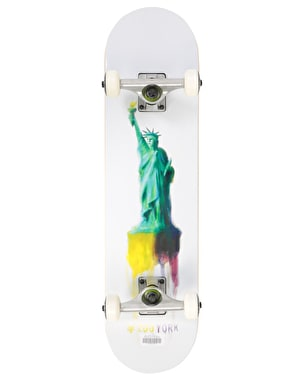 Zoo York Watercolor Liberty Complete Skateboard - 7.75