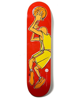 Girl Biebel B-Ball Series Skateboard Deck - 8