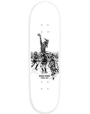 Pass Port Paul Mark Skateboard Deck - 8.25
