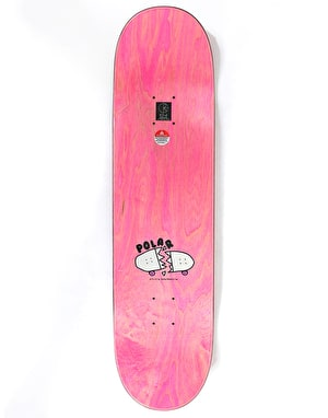 Polar Brady Bacon Hair Skateboard Deck - 8.38
