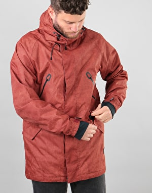 Bonfire Static 2018 Snowboard Jacket - Maroon