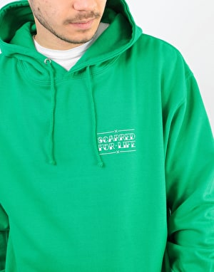 Scarred For Life Tigress Pullover Hoodie - Kelly Green