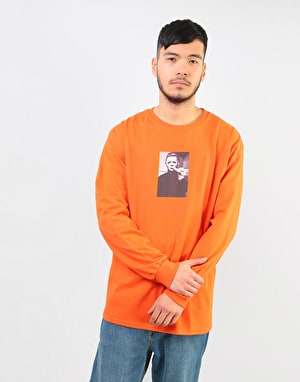 Manor Myers Long Sleeve T-Shirt - Orange