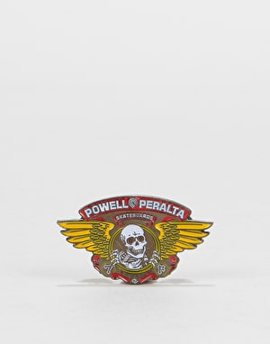 Powell Peralta Winged Ripper Lapel Pin - Multi
