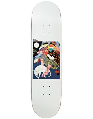 Polar Boserio Midnight Jam Skateboard Deck - 8.4