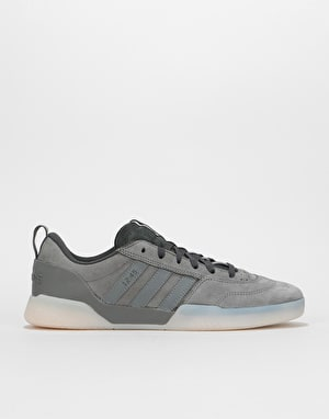 Adidas x Numbers City Cup Skate Shoes - Grey/Carbon/Grey